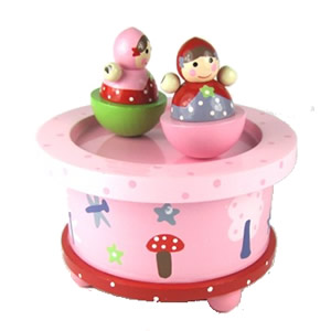 Strawberry Patch Music Box